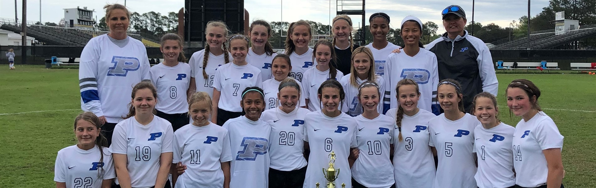 2018-2019 Girls Soccer Conference CHAMPS