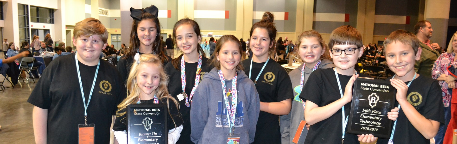 Beta Places at State Convention